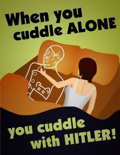into that cuddling alone hitler - 6818277120