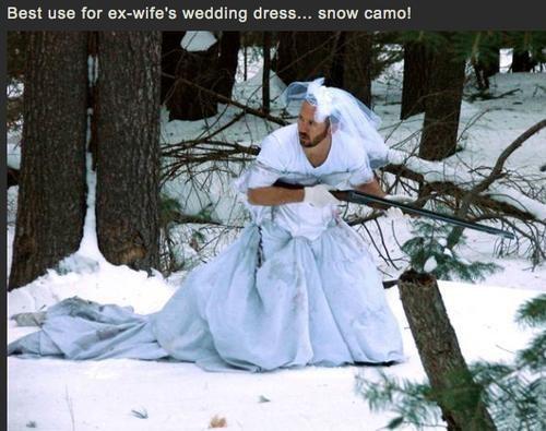 camo ex wife hunting weird - 6818334720