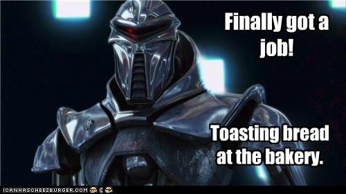job Battlestar Galactica toaster cylon - 6818363648