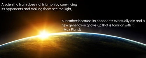 science Words Of Wisdom max planck - 6818366208