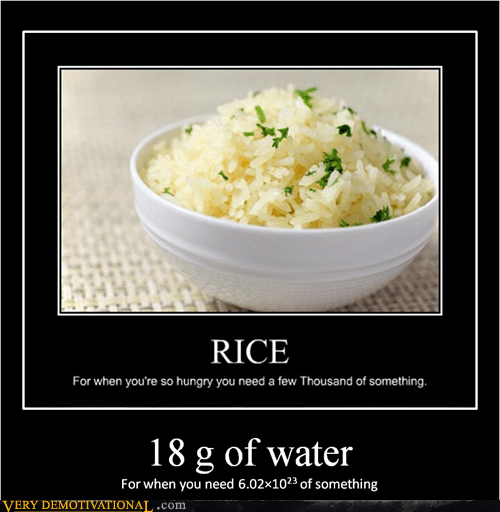wtf water rice math