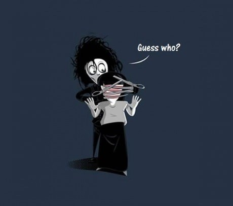 art Movie Edward Scissorhands funny - 6818509824