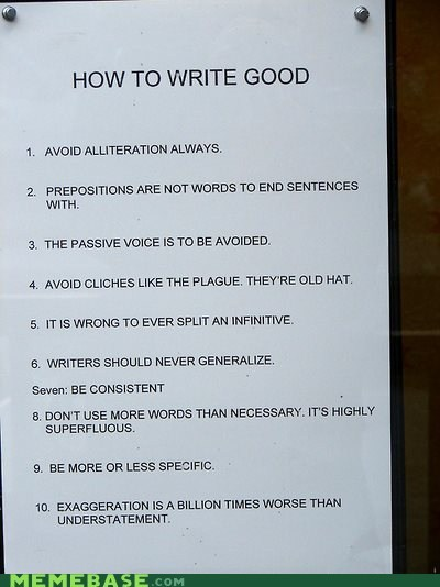 alliteration,sign,tips,writing