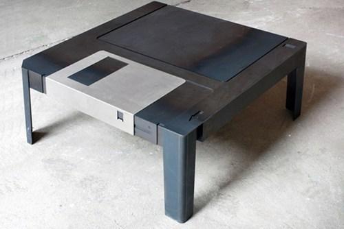 furniture table design floppy nerdgasm - 6818739712