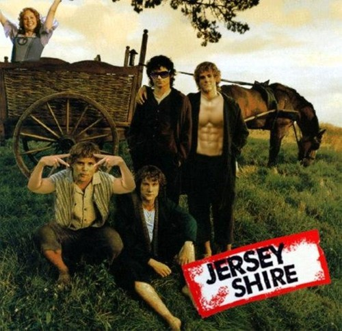 Merry brandybuck jersey shore dominic monaghan Lord of the Rings Frodo Baggins sean astin sam gamgee pippin took billy boyd elijah wood - 6818849280