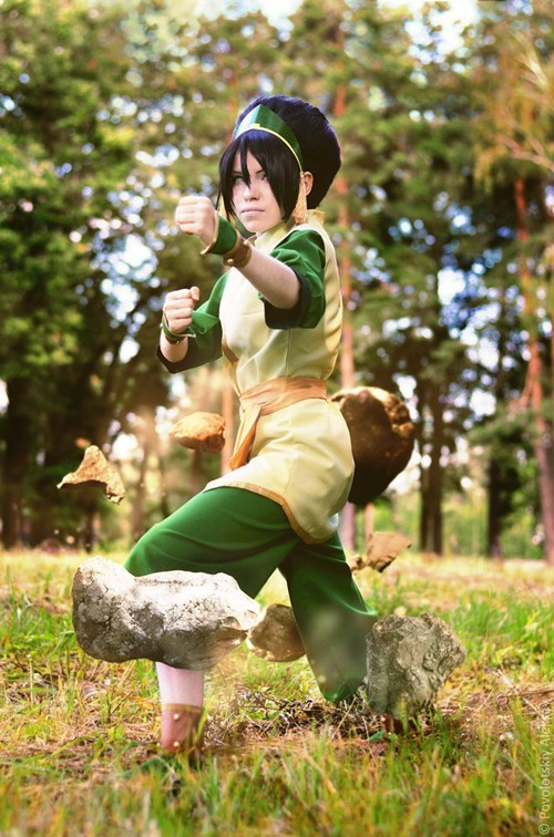 cosplay Avatar the Last Airbender cartoons toph - 6818977024