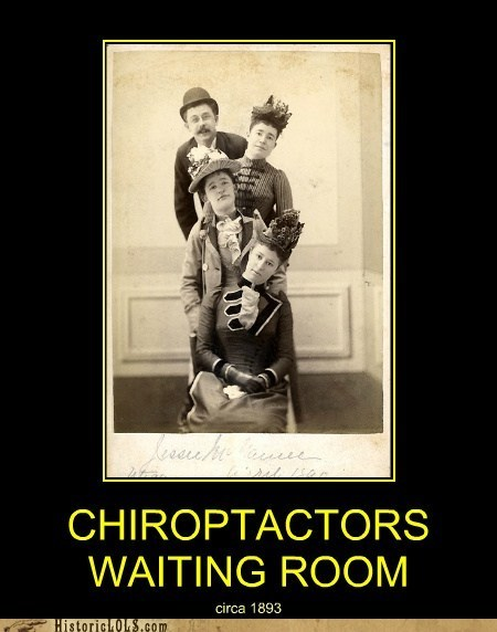 crooked waiting room neck chiropractor - 6819020544
