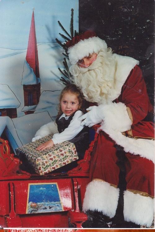 sketchy christmas santa funny holidays sketchy santas - 6819027968