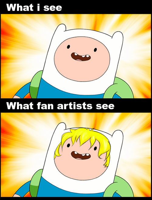 Fan Art finn the human adventure time - 6819093760