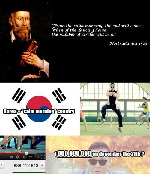 prediction future nostradamus gangnam style - 6819114496