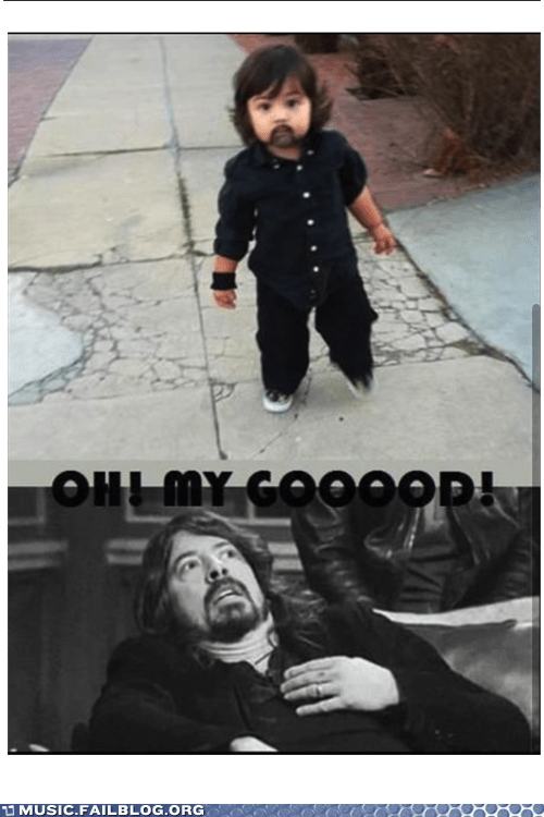 baby costumes Dave Grohl foo fighters - 6819218944