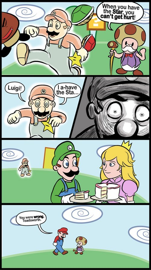 peach,comic,luigi,emotions,mario