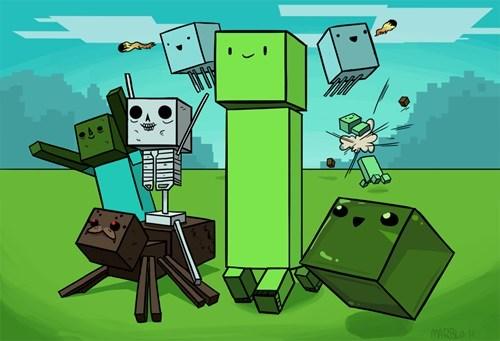 Fan Art minecraft video games - 6819250944