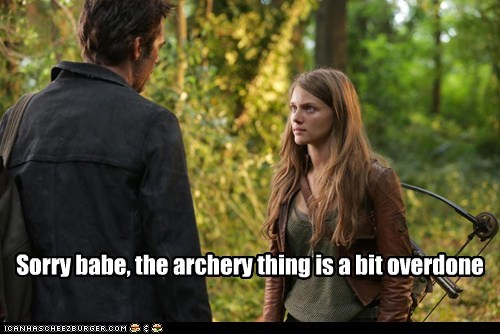 Tracy Spiridakos,billy burke,overdone,Miles Matheson,sorry,revolution,archery