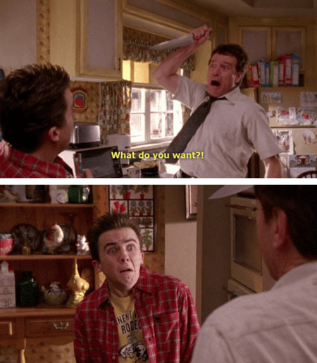 malcolm in the middle,actor,TV,bryan cranston,90s,Frankie Muniz,funny