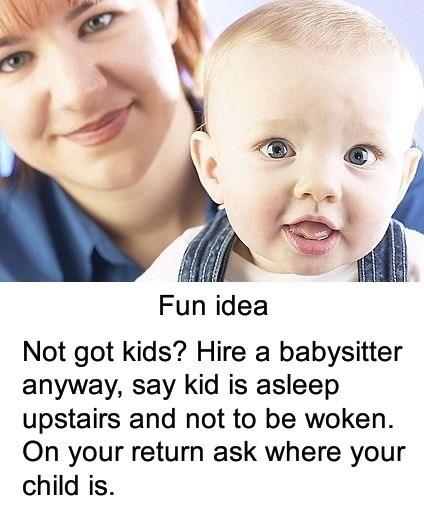 babysitter kids prank - 6819600384