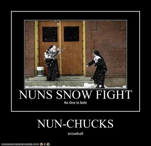 NUN-CHUCKS snowball