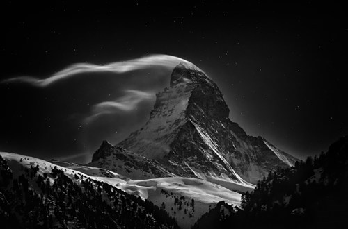matterhorn,photography,eerie,winter,mountain,g rated,destination win,Hall of Fame,best of week