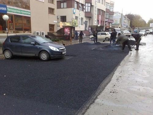 paving concrete road work parking - 6819808000
