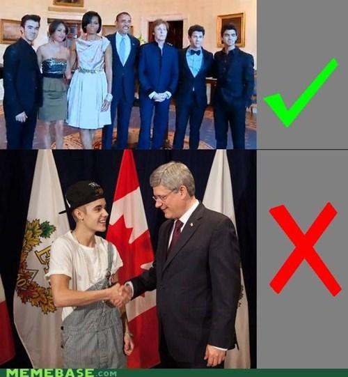 Canada,justin beiber,FAIL