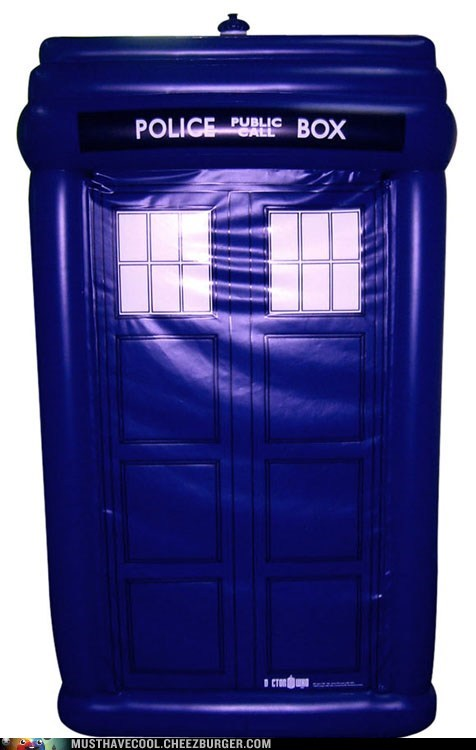 tardis inflatable doctor who baloons