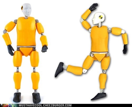 buster action figures crash test dummy toys mythbusters