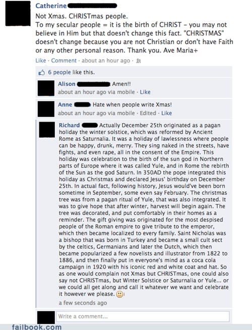 history christmas pagans failbook g rated