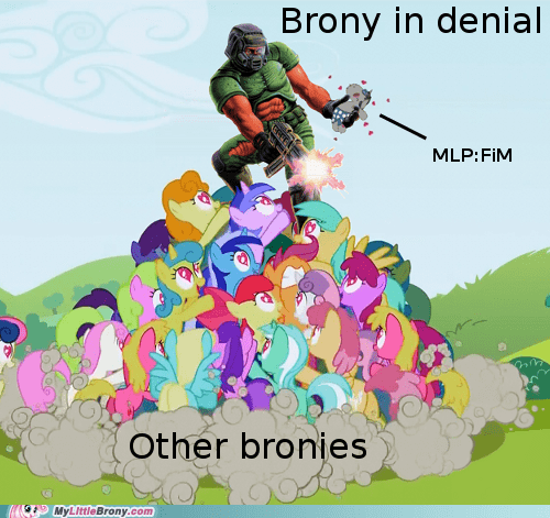 Brony in denial