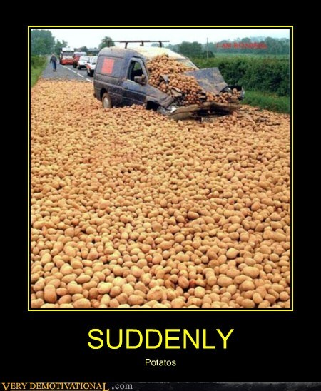 SUDDENLY Potatos