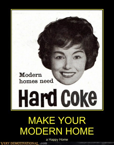 modern coke funny home