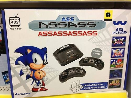 sonic the hedgehog sega assass sonic - 6822859520
