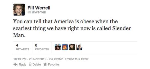slender man parody twitter account Will Ferrell will ferrell parody - 6822861312