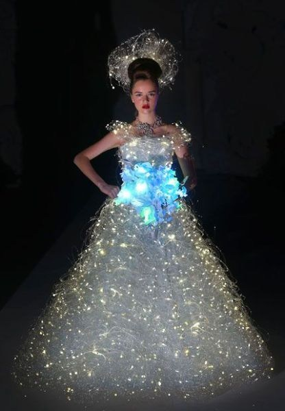 christmas lights dress - 6822932736