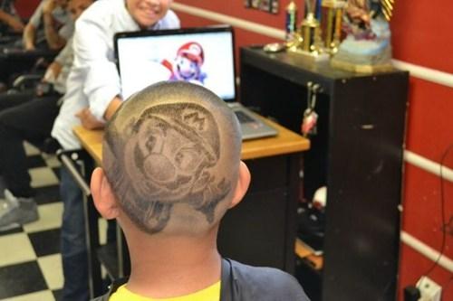 hairdo Super Mario bros