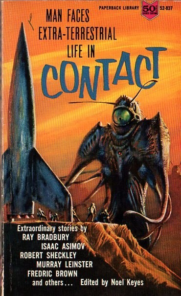 carl sagan,wtf,confusing,book covers,contact,rocket,alien,sci fi