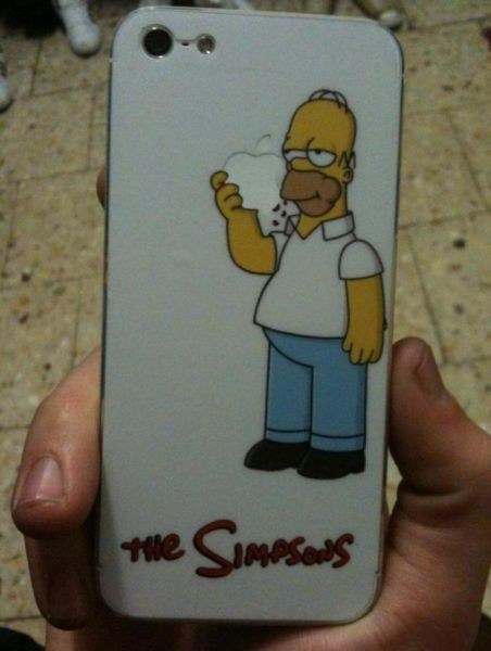 homer approved iphone case the simpsons apple g rated AutocoWrecks - 6823103488