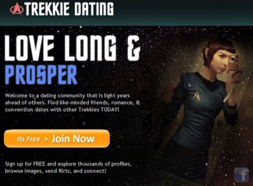 dating sites,Star Trek,Trekkies