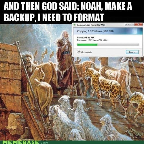 backup,god,hard drive,computers,noahs ark