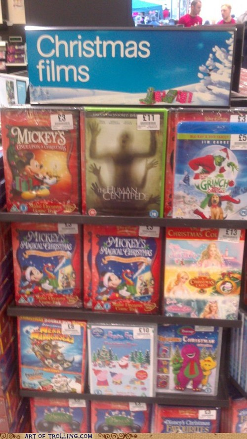 shoppers beware,Movie,gift,human centipede