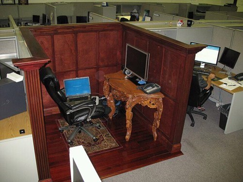 gold leaf,tps reports,regal cubicle,cubicle