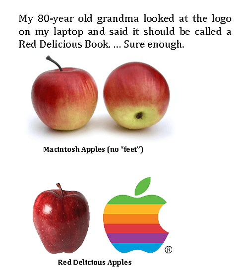red delicious apple grandma macintosh apple apples apple monday thru friday g rated - 6823513344