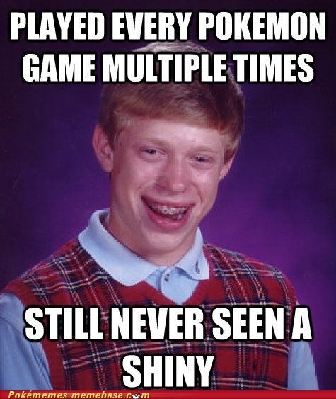 shiny,Memes,bad luck brain