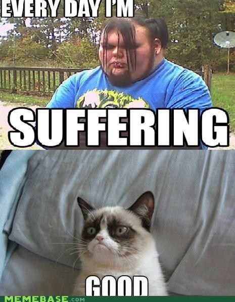 suffering emo Grumpy Cat