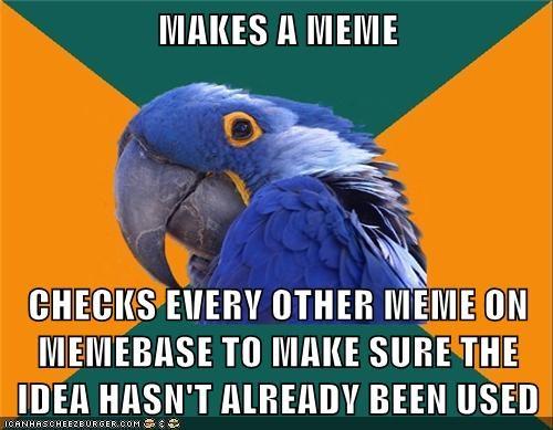 OC,Paranoid Parrot,reposts
