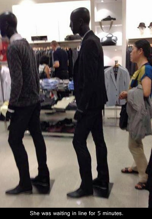 wtf Mannequins lines funny - 6823676160