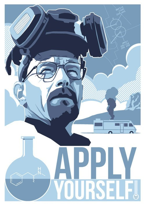 breaking bad apply yourself meth walter white - 6823682048