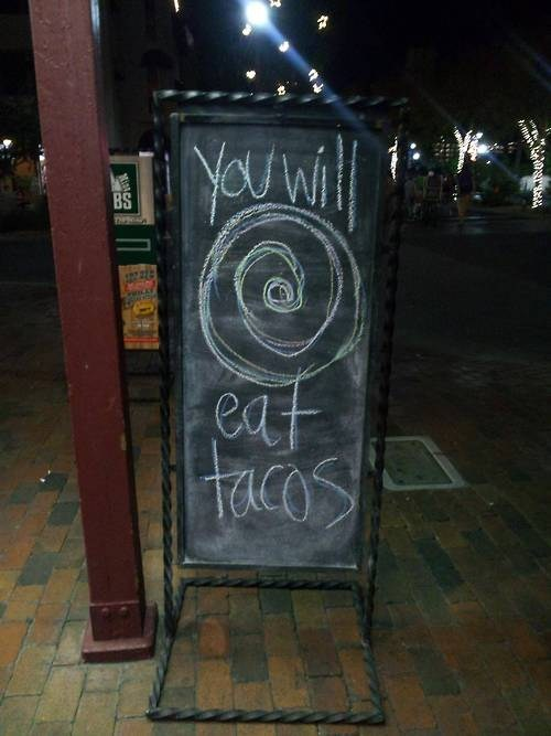 sign,hypnosis,tacos,business