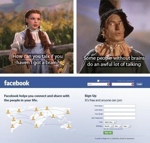 wizard of oz blabbering scarecrow - 6823849216