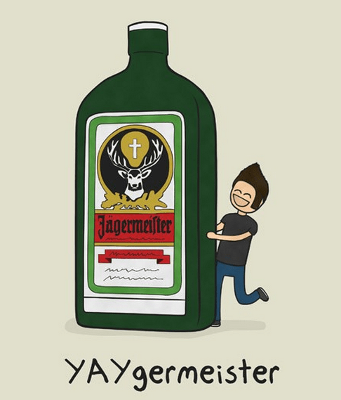 alcohol yaygermeister jager cartoons after 12 g rated
