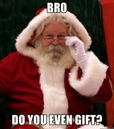 christmas holiday meme santa - 6823858432